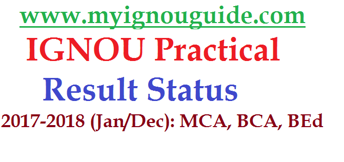 IGNOU Practical Result
