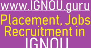 IGNOU Recruitment 2019