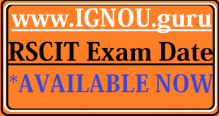 RSCIT Next Exam Date 2019
