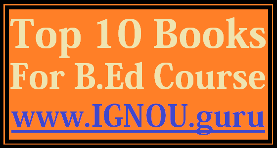 Best B.Ed Books