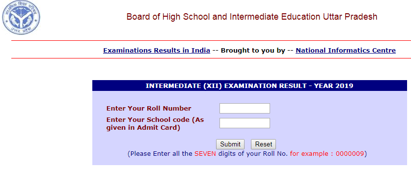 UP Board Time Table 2020: upmsp edu in High School, Inter